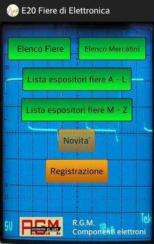 1 Schermata E20 Fiere di Elettronica