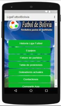 Liga de Futbol de Bolivia apk screenshot