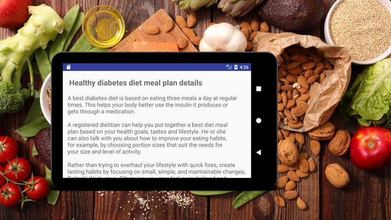 recetas de plan de dieta para diabetes 2