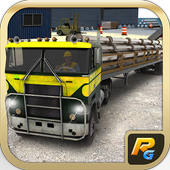 Bridge Cargo Transporter Truck icon