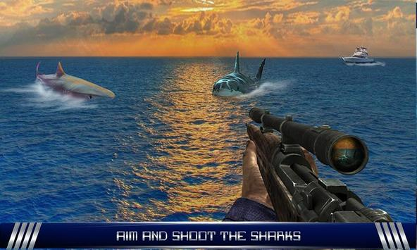 Furious Shark Sniper Shooter apk screenshot