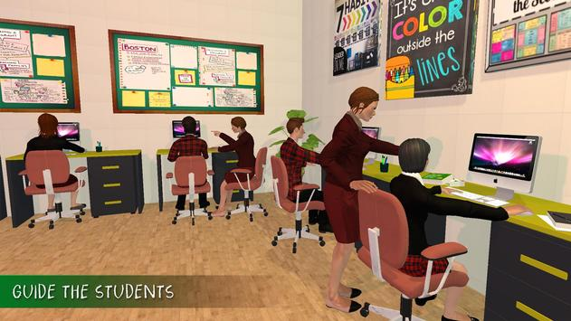 Virtual Mom High School Teacher Family Fun Time screenshot 2