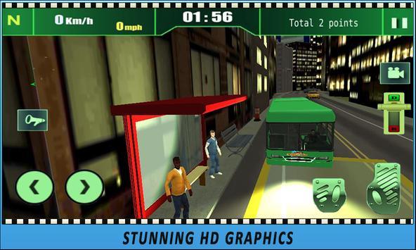 Bus simulator City Driving 2018 screenshot 3