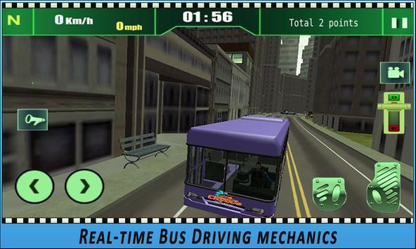 Bus simulator City Driving 2018 screenshot 13