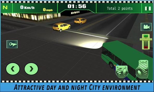 Bus simulator City Driving 2018 screenshot 15