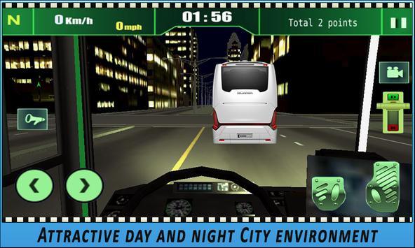 Bus simulator City Driving 2018 screenshot 8