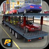 Car Transporter Cargo Ship 3D icon