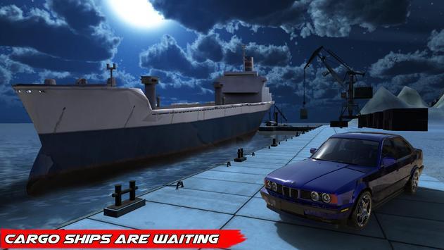 Car Transporter Cargo Ship 3D apk screenshot