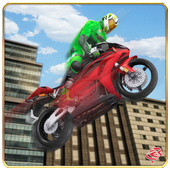 City Bike Roof Jumping 2016 icon