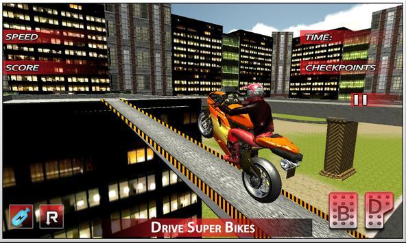 City Bike Roof Jumping 2016 screenshot 16
