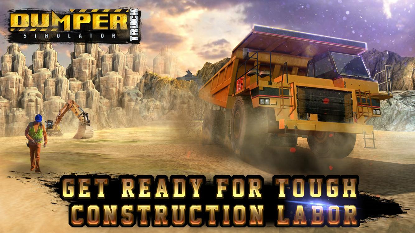 Dumper Truck Driving SIM 3D for Android - APK Download