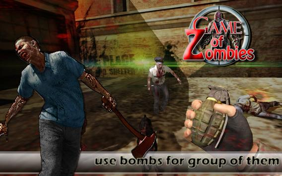 Game of Zombie : Free Shooting Game - FPS screenshot 11
