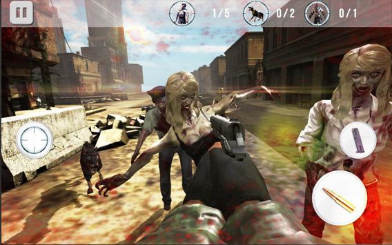 Game of Zombie : Free Shooting Game - FPS screenshot 1