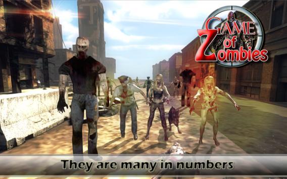 Game of Zombie : Free Shooting Game - FPS screenshot 4
