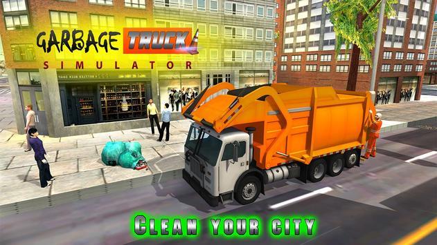 Garbage Truck Simulator 3D Pro apk screenshot