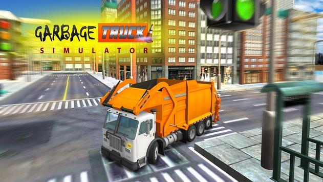 Garbage Truck Simulator 3D Pro poster