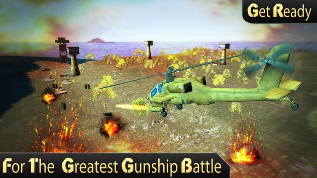 Army Helicopter Gunship Strike apk screenshot