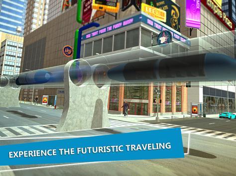 Hyperloop Train Simulator 3D apk screenshot