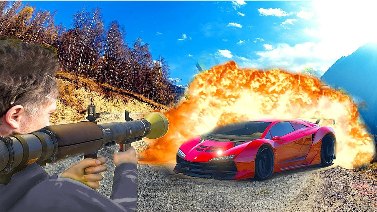 Laser Guided Missile Launcher Roblox Missile Vs Cars For Android Apk Download