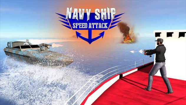 Navy Police Speed Boat Sim 3D apk screenshot