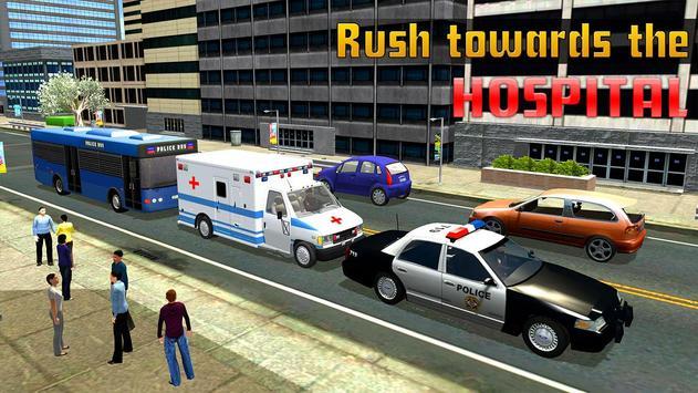 Police Ambulance Rescue 911 screenshot 9