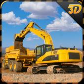 Sand Excavator Truck Sim 3D icon