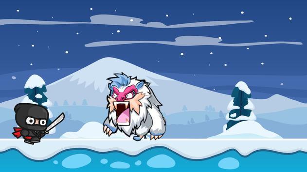 Ninja Snow Adventure screenshot 2