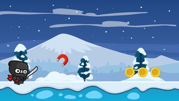 Ninja Snow Adventure screenshot 3