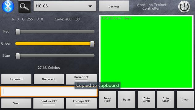 Aceduino Trainer Controller apk screenshot