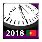 Calendário Feriados Nacionais 2018 Portugal icon