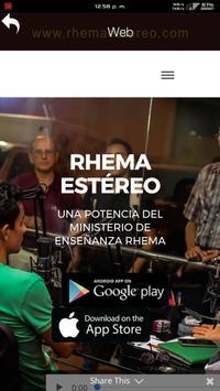 Rhema Estereo apk screenshot