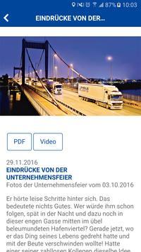 Rhenus Informations-App screenshot 3