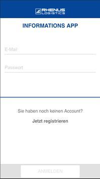 Rhenus Informations-App poster