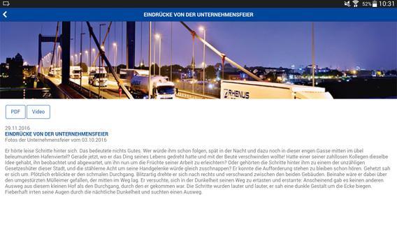 Rhenus Informations-App apk screenshot