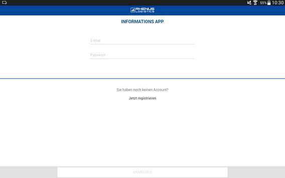 Rhenus Informations-App screenshot 4