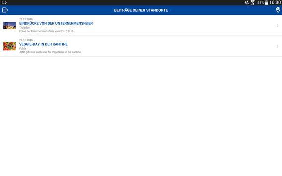 Rhenus Informations-App screenshot 5