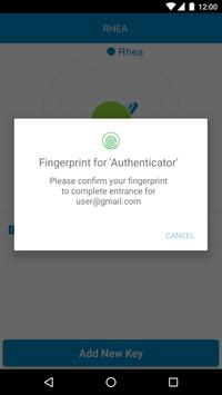 RHEA Salesforce Authenticator apk screenshot