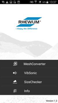 RHEWUM ScreenSpector poster