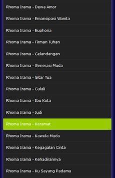 Rhoma Irama TOP Hits Mp3  Raja Dangdut apk screenshot
