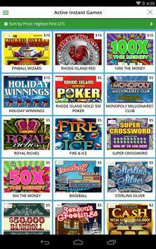 Rhode Island Lottery apk screenshot