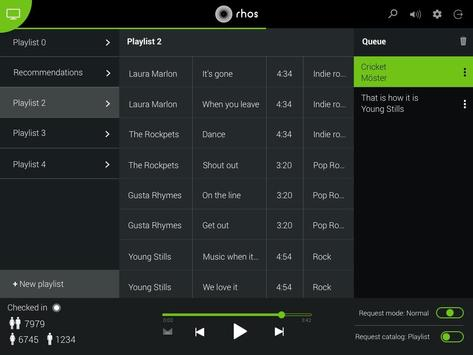 Rhos Host (Music for Business) apk screenshot