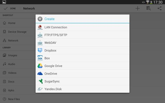 File Manager HD (Explorer,FTP) APK-screenhot