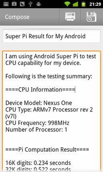 Super PI apk screenshot