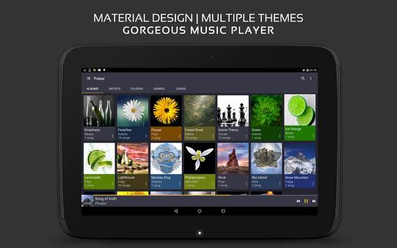 Pulsar Music Player apk imagem de tela