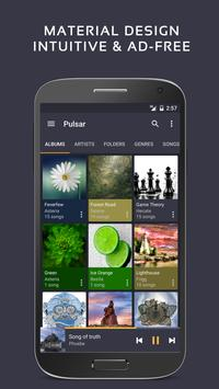 Pulsar Music Player Cartaz