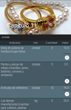 Normas Aduaneras de Cuba apk screenshot