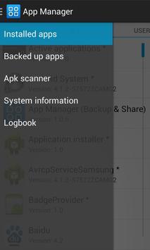 App Manager (Backup & Share) poster