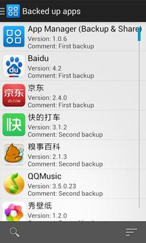 App Manager (Backup & Share) screenshot 2