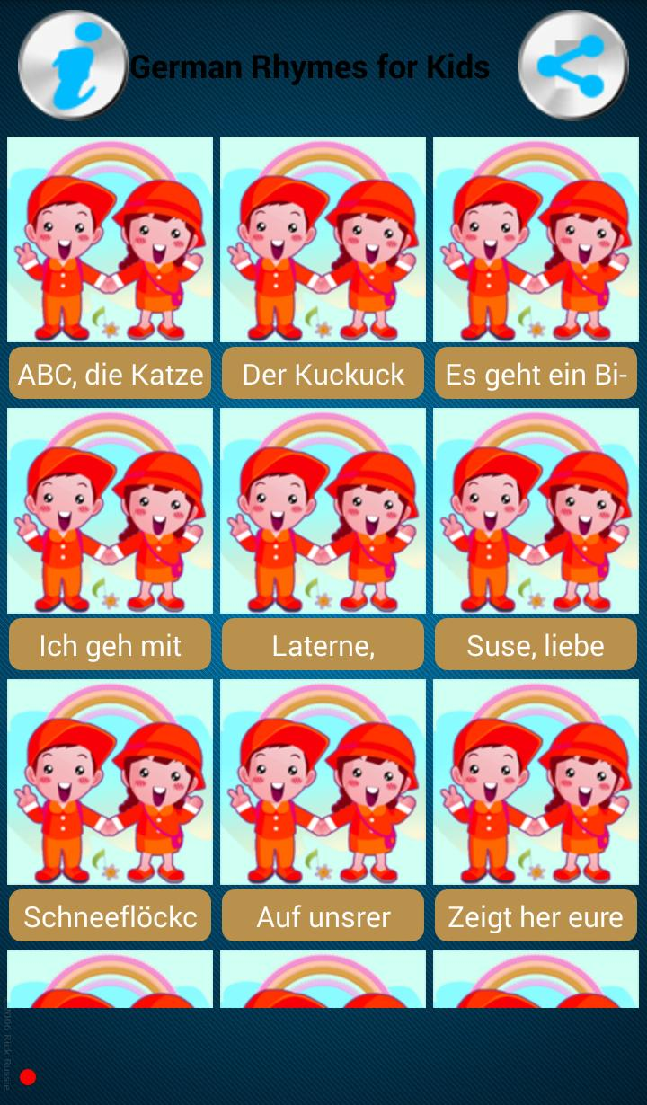 German Rhymes+Songs for Kids for Android - APK Download