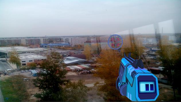 Dubstep Gun Augmented Reality apk screenshot